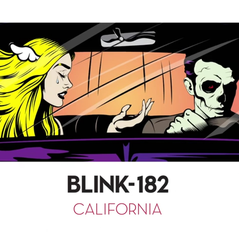 Image result for Blink-182 California