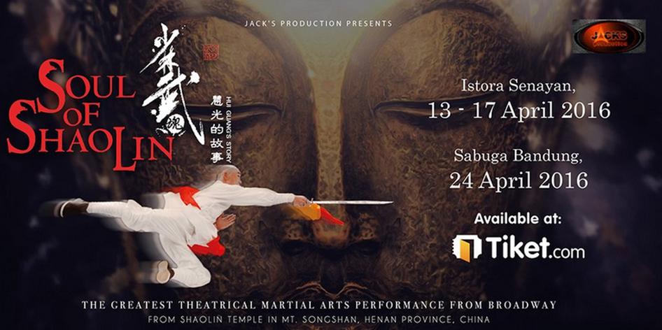 Pertunjukan Soul of Shaolin di Sabuga Bandung 24 April 2016
