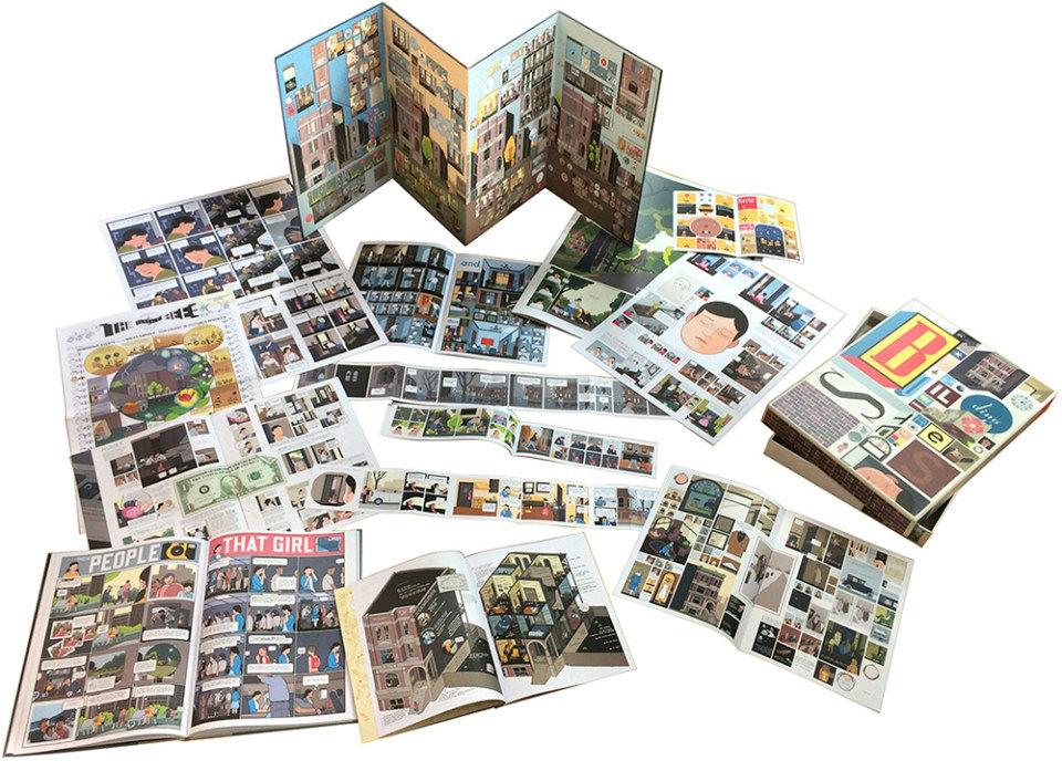 Chris Ware se supera con la novela gráfica Building stories