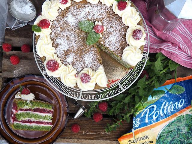 tort-szpinakowy-z-mascarpone
