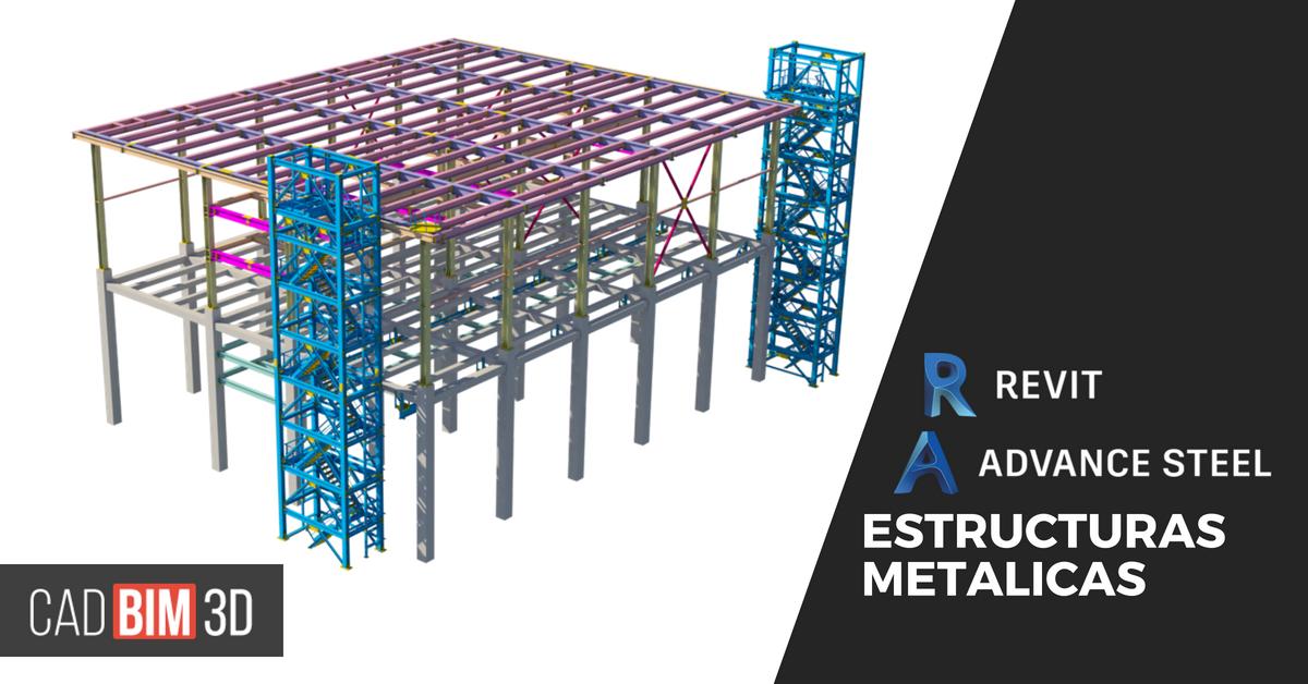 Revit y Advance Steel, el dúo dinámico de las estructuras metálicas