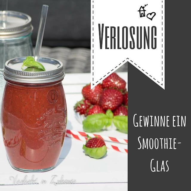 Verlosung: Gewinne ein Smoothie-Glas