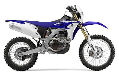 Yamaha WR450 Specs