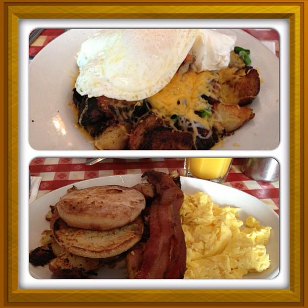 Texas Fries and Farmer's Breakfast