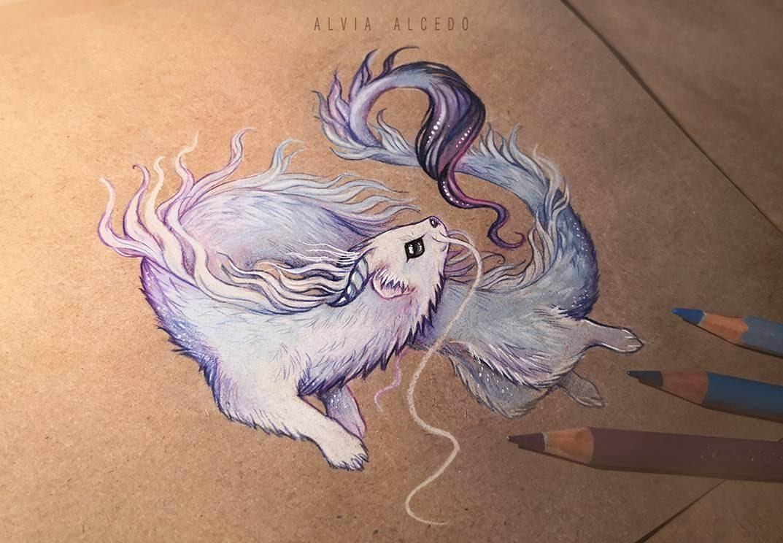 09-Ermine-dragon-Alvia-Alcedo-www-designstack-co
