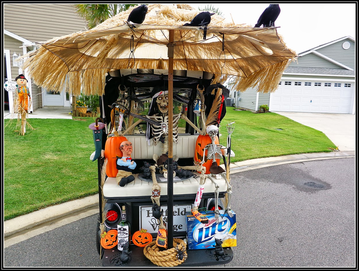 the nolens halloween golf cart