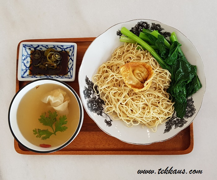 Wan Tan Mee Enjoy Halal Organic Food at Ku Cha Be 古早味