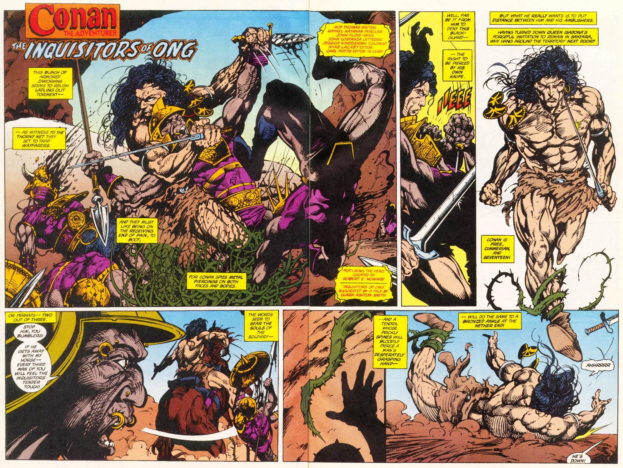 Read online Conan the Adventurer comic -  Issue #11 - 3