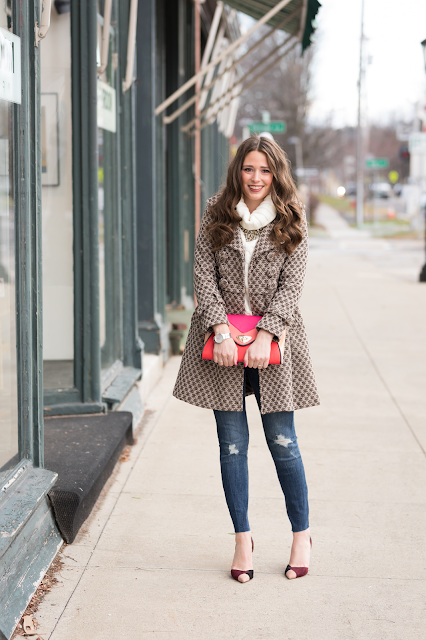 How to style a Houndstooth coat