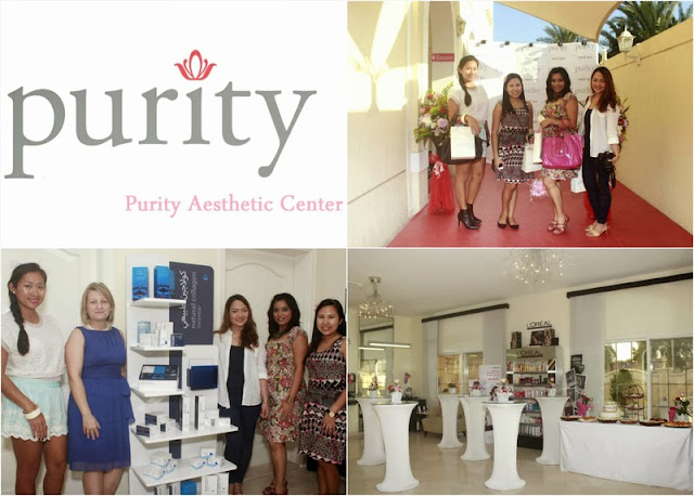 with the bloggers at Purity Med Spa