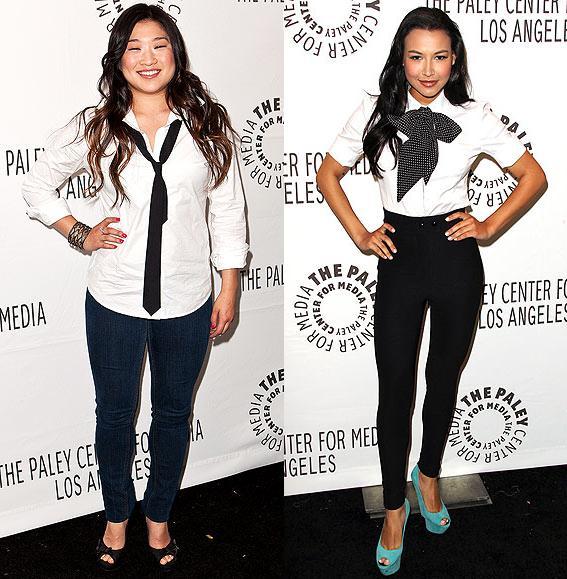Tyra Banks On Glee: ScarletStiletto: Sharp Looks