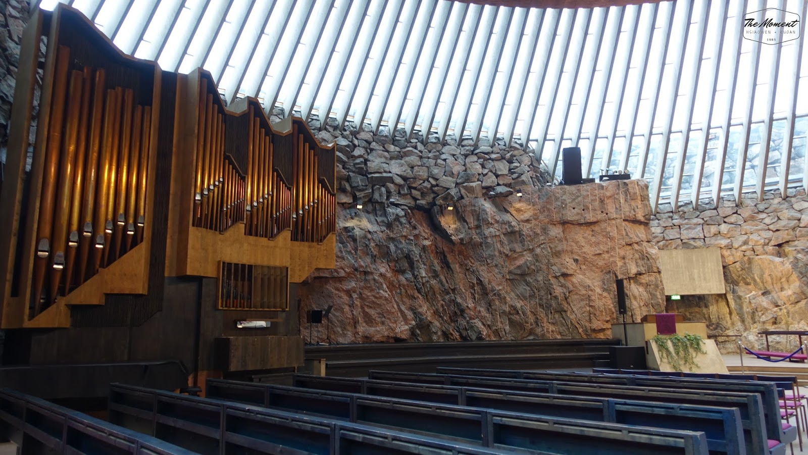 02 Mar 2017 (THU) (Activity) Finland_赫爾辛基Helsinki part 2 Kamppi Chapel&巖石教堂 | The moment