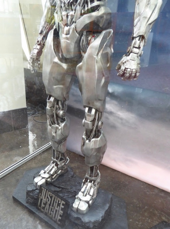 Justice League Cyborg costume legs
