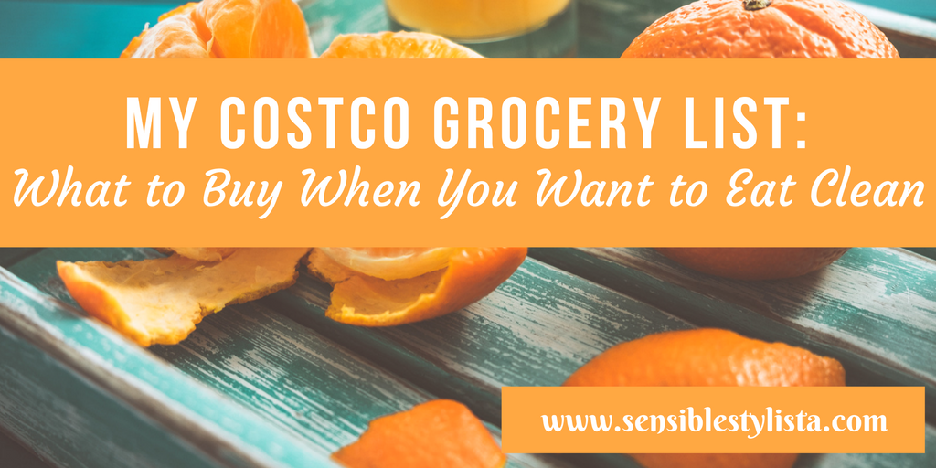 Costco Grocery List
