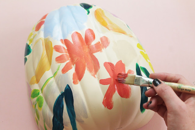 Easy Pumpkin Painting