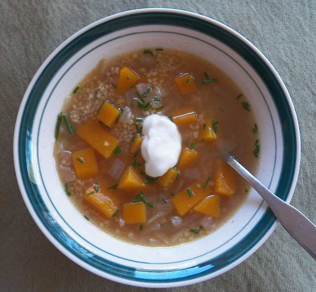 Moroccan Style Butternut Squash Soup for #SoupSaturdaySwappers