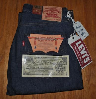 Levi's Vintage Clothing 501 1966年モデル デッドストック