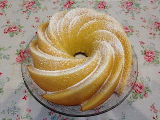 bundt cake de naranja