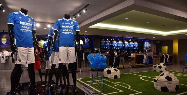 Jersey Baru Persib Bandung 2018, Biru Putih Didukung 14 Sponsor