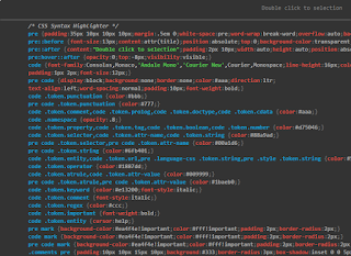 Cara Membuat Syntax Highlighter Berwarna di Blog