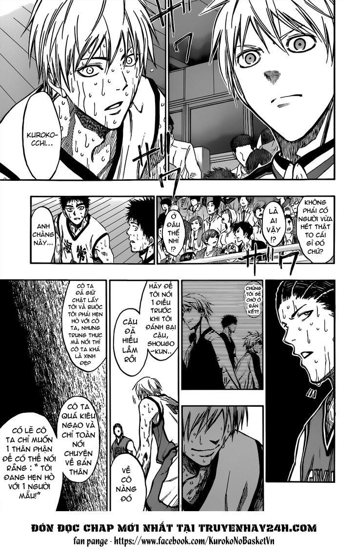 Kuroko No Basket chap 172 trang 15