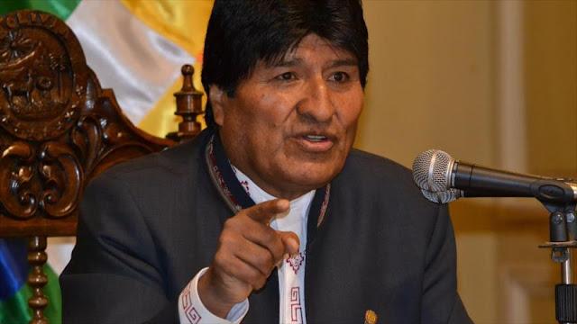 Morales advierte que OTAN busca intervenir en Venezuela