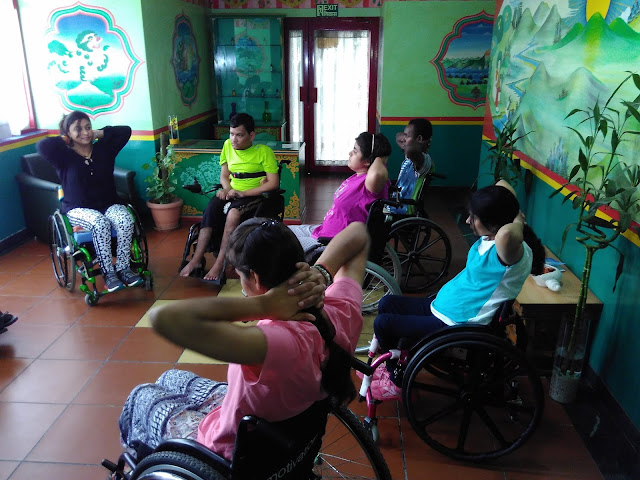 Make wheels a will to win: Indian Spinal Injuries Centre organizes Wheelchair Yoga Session