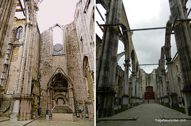 Ruínas do Convento do Carmo de Lisboa