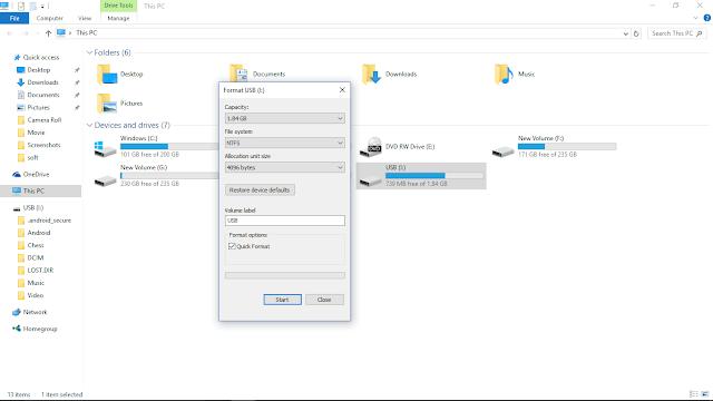 Cara Mencuri Password Menggunakan USB Flashdisk