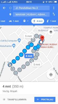 Cara Mengukur Jarak Dengan Google Maps di Android