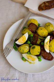 (salatka ziemniaczana z chorizo