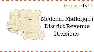 Medchal Malkajgiri District  Revenue Divisions