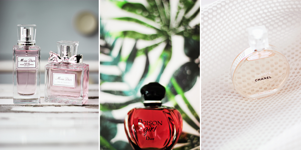miss dior, dior poison girl, chanel chance eau vive fragrance aimerose beauty blog review
