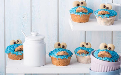 BLUE MONSTER MUFFINS