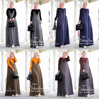 koleksi gamis hijab solo terbaru