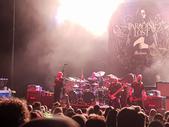 Paradise Lost at Brixton Academy August 2018