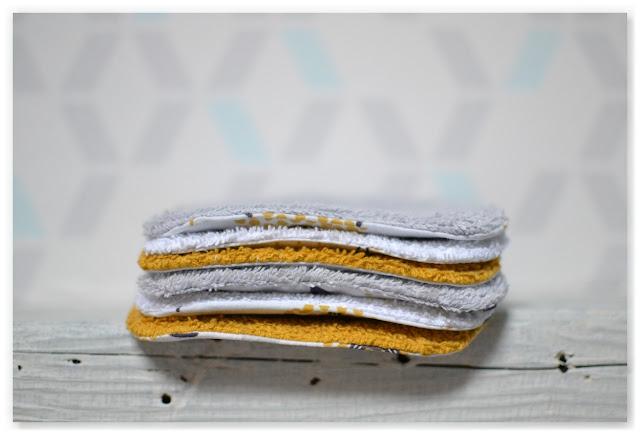 pile de cotons lavables moutons