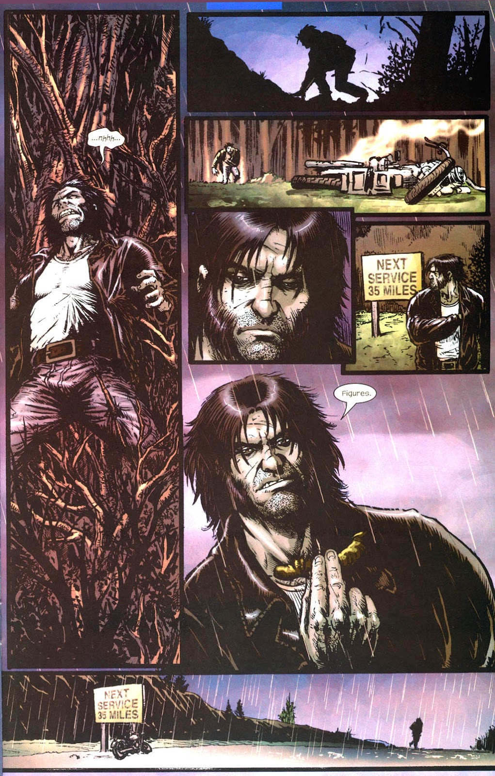 Read online Wolverine (2003) comic -  Issue #13 - 15