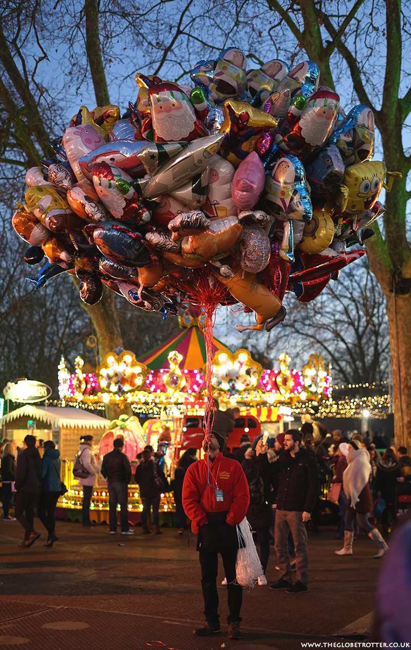 London Hyde Park Winter Wonderland