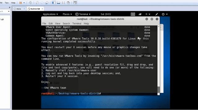 تحميل وتثبيت Kali linux كالي لينكس على برنامج الأنظمة الوهمية vmware workstation