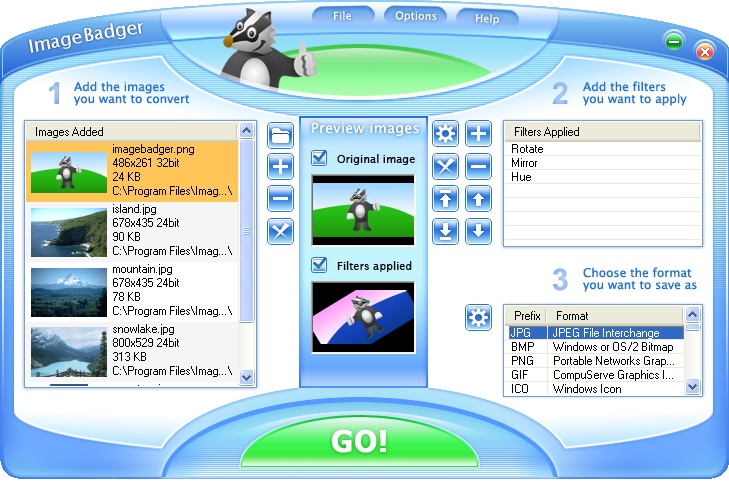 تحميل برنامج تحويل صيغ الصور Download Images Converter