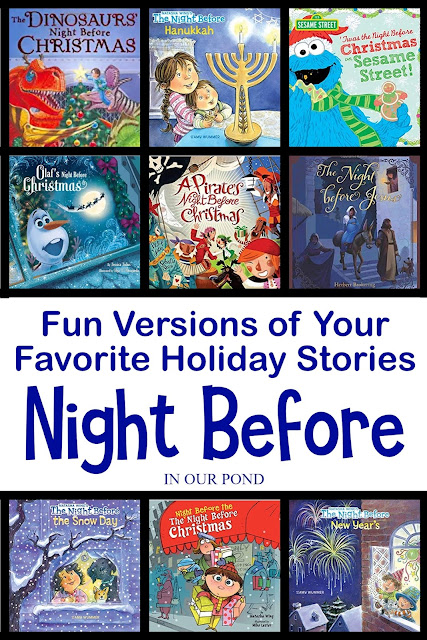 Fun Versions of Your Favorite Holiday Stories // In Our Pond // Night Before Christmas // Santa