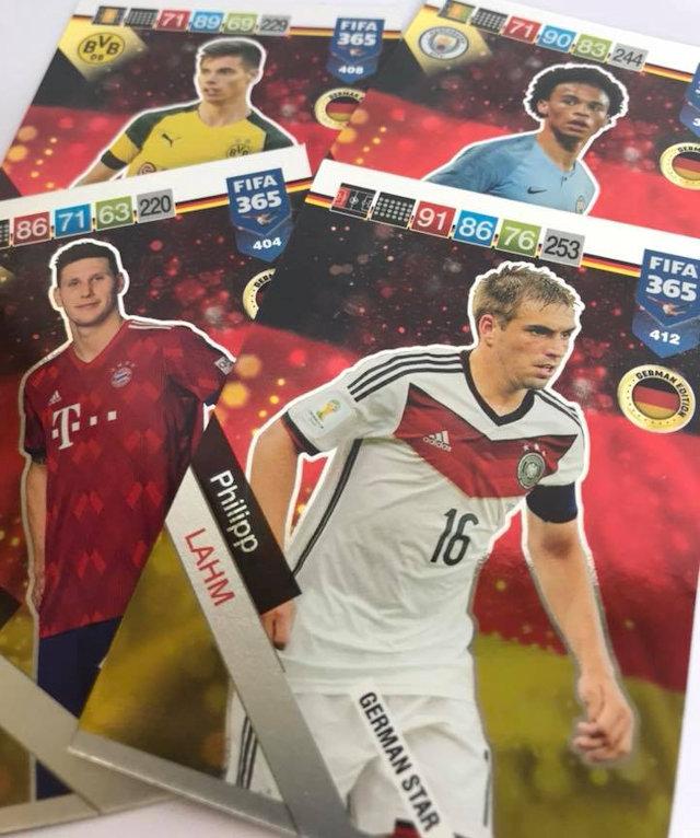 Lucas Moura Fifa 18 Card: Football Cartophilic Info Exchange