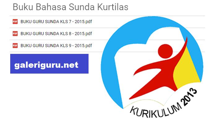 Contoh Buku Bahasa Sunda Kurikulum 2013 untuk Pegangan Guru SMP Format PDF - Galeri Guru