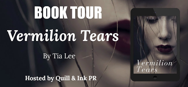 Book tour, Vermilion Tears, Tia Lee, Hosted by Quill & Ink