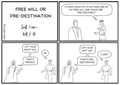 Definition or just logical simplicity of free will