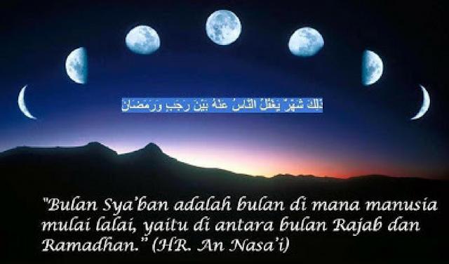 Inilah Keistimewaan 3 Amalan di Bulan Sya'ban yang Dicontohkan Oleh Rasulullah