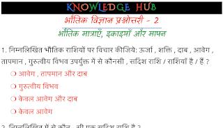 Physics Quiz - 2