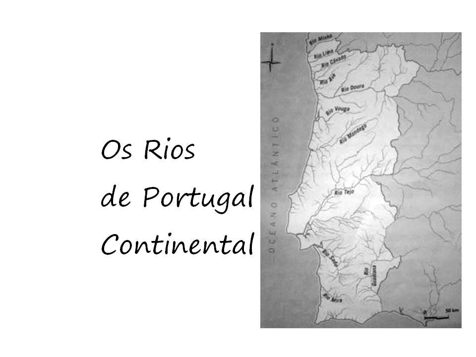 mapa de rios e serras de portugal Os Tondelitos   4º Ano: Rios e serras de Portugal mapa de rios e serras de portugal