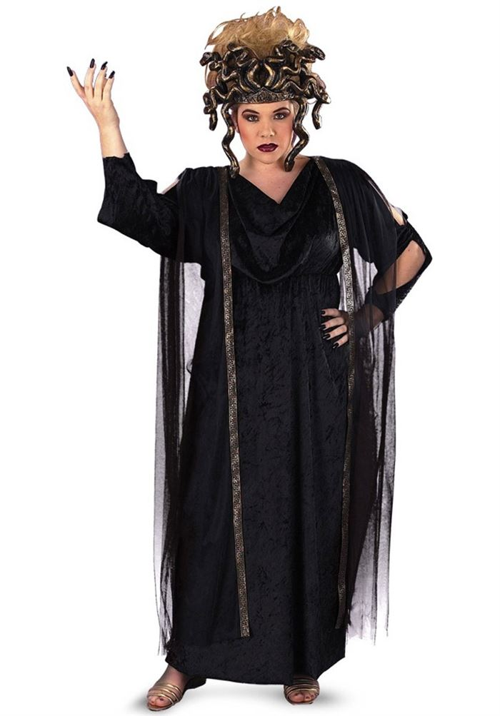 Medusa Halloween Costumes For Plus Size